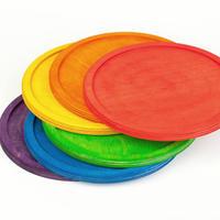 6レインボートレイ (6 Rainbow dishes) 17-170