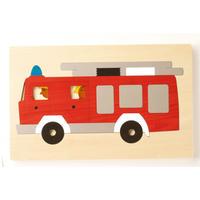 2重パズル 消防車