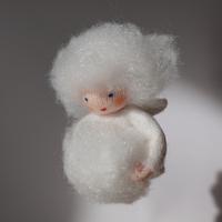 粉雪の赤ちゃん(吊るし)
