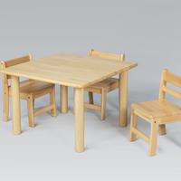 角テーブル W75 x D75cm  <H 33>
