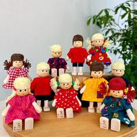 クレーブス人形 AK10人の子ども