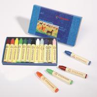 スティッククレヨン12色紙箱 シュトックマー社