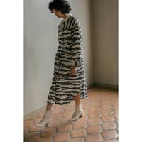 ZEBRA PRINT SHIRT DRESS(OC2003)