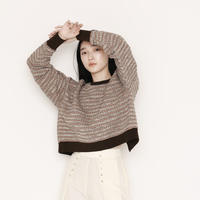 JQ BORDER 2WAY KNIT P/O