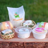 【春~秋限定】ヤギとウシのチーズ7種セット