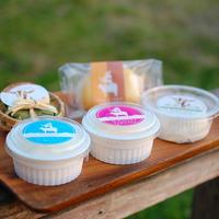【春~秋限定】ヤギとウシのチーズ5種セット