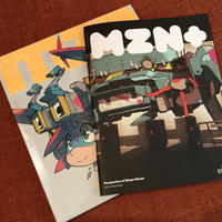 [Perspectives of Shinya Mizuno] + [mzn+]  (book+fanzine)