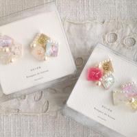 marumi03   宝石の花束・イヤリング