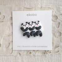 eikobo  |  つながるパンダブローチ