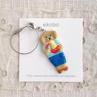 eikobo  |  犬ドールバッグチャーム(ラーメン)