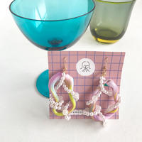 レモンノイレモン  |  Funny candy (アラザン) ピアス〈イヤリングに変更可能〉