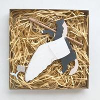 iriki  |  鳥モビール  pegasus [ jump ]