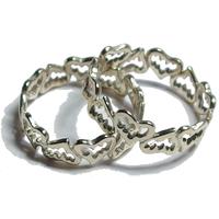 Funged Heart Ring (SV) / ファングド・ハート・リング (シルバー)
