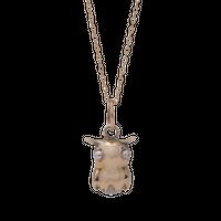 mini Flapjack Octopus Holding Gem Necklace / ミニ・フラップジャック・オクトパス・ネックレス