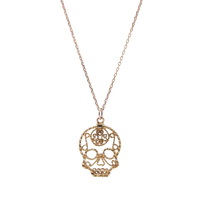 Skull Necklace 【L】 / スカル・ネックレス 【Lサイズ】 < フィリグリー >