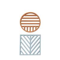 OYOY 鍋敷き 2枚組 :Gotoku