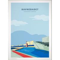 Wonderhagen ポスター「Havnebadet」