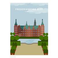 Wonderhagen A5カード「Frederiksborg Castle」