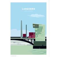 Wonderhagen A5カード「Langebro」