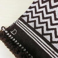 Tikau 手織りラグ:ジグザグ