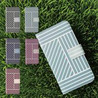 Blue Lines: iPhone 手帳型ケース (6~12 Pro)※受注生産