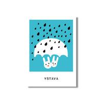 Kaviva Graphics ポストカード:Ystävä