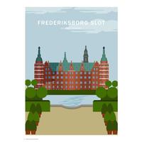 Wonderhagen ポスター「Frederiksborg Castle」
