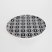 Designparken トレイ 円型 Lサイズ: 「Art Deco」