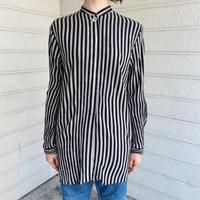 1990'S VINTAGE ストライプパターンシャツ [7642]