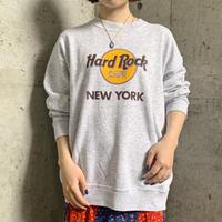 "「Hard Rock CAFE ""NEW YORK""」ロゴスウェット[9710]"