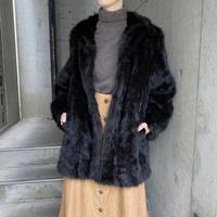 vintage リアルミンクファーコート[8408]