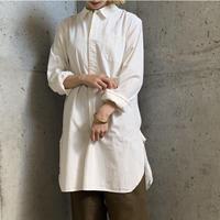Swedish type グランパシャツ (white) [7517]
