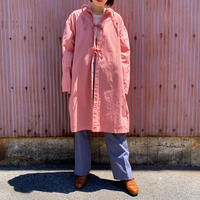 1950-60s Itary military サージカルガウン (pink overdyed) [8704]