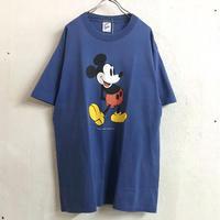 USA 90'S  VINTAGE ミッキープリントTシャツ (BLUE) [9021]