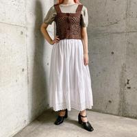 EURO vintage コットン ペチコートスカート[8070]