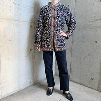 カシミール刺繍ジャケット(BLACK)[7295]