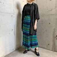 1980-90s vintage グラフィック柄 インド綿スカート[9610]