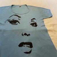 7 0's Face pattern T-shirt [M040]