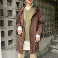 Sweden type 40sレプリカ スノーカモパーカー(brown overdyed)[8554]