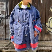 "1990s ""will wear""デニム ファイヤーマンジャケット[8681]"