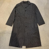 【KIDS】1960'S VINTAGE ブラックシャンブレーコート(BLACK)[7399]