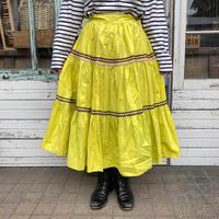 1950s lemon yellow patio skirt[1013]