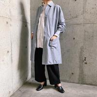 U.S.A Work Wear 袖リブデザイン ホスピタルコート (Light gray)[8145]