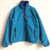 「patagonia」ハーフジップフリースジャケット(BLUE)[7251]