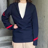 French military vintage ウール セーラーシャツ[8546]