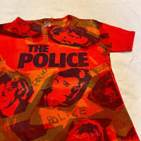 80's The POLICE allover print T-shirt [M045]