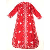 1970'S VINTAGE フィリピン刺繍ロングジャケット(RED)[7120]