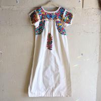 【KIDS】1970'S VINTAGE サンアントニオ刺繍ワンピース [9251]