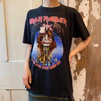 used『IRON MAIDEN』monstars of ROCK 1988 バンドTシャツ[8973]