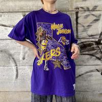 """""""NUT MEG"""" NBA lakers """"MAGIC JOHNSON"""" Tシャツ[9081]"""